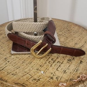 Brighton stretch cord belt